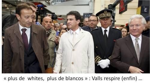 Manuel Valls _ plus de whites plus de blancos