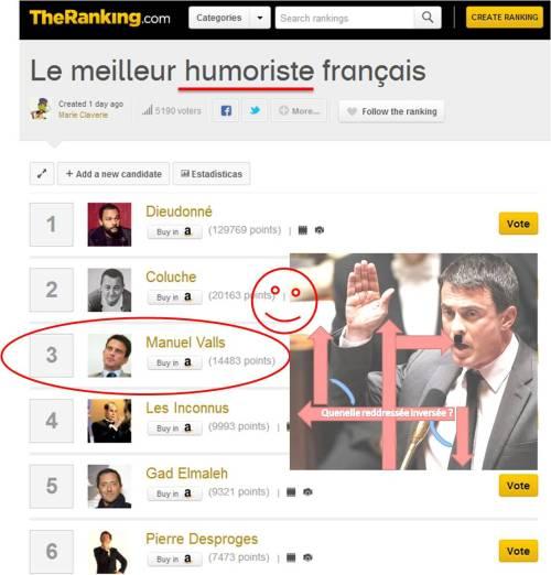 valls - humouriste français du xxie siecle