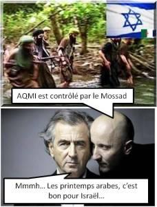 bhl mossad aqmi algérie