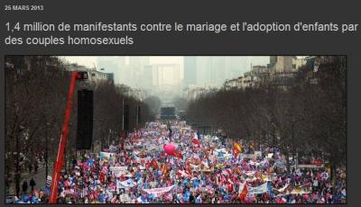 1 million 4 - contre le mariage gay