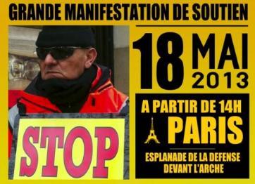 manifestation 18 mai - soutien a Bruno Boulefkhad