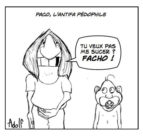 Paco antifa pédophile