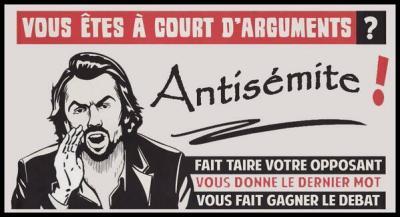 antisemite - carte de jeux
