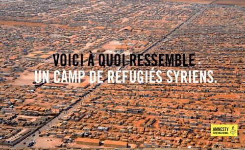 camp de réfugié syrie
